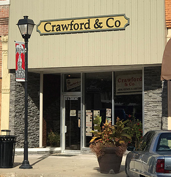 Crawford & Company Real Estate and Auction Storefront